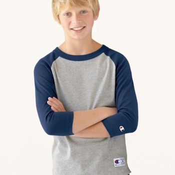 Youth Raglan Baseball T-Shirt Thumbnail