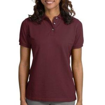 Ladies Heavyweight Cotton Pique Polo Thumbnail