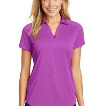 Ladies Digi Heather Performance Polo Thumbnail