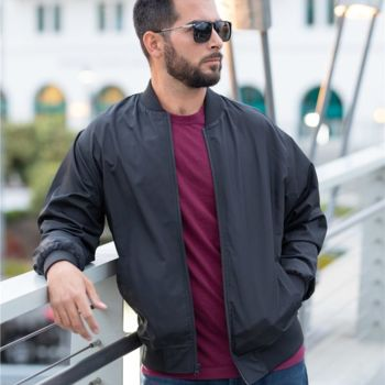 Lightweight Bomber Jacket Thumbnail