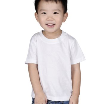 Cotton Heritage Infant Short Sleeve Crewneck T-Shirt Thumbnail