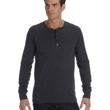 Men's Jersey Long-Sleeve Henley Thumbnail