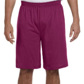 Adult Longer-Length Jersey Short Thumbnail