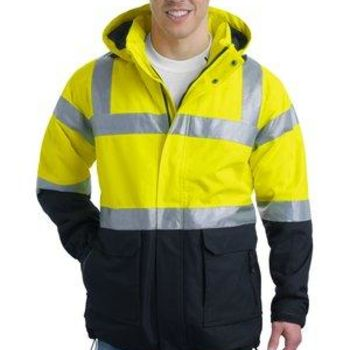 Ansi 107 Class 3 Safety Heavyweight Parka Thumbnail