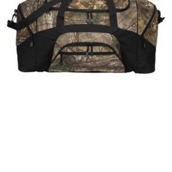 Camouflage Colorblock Sport Duffel Thumbnail