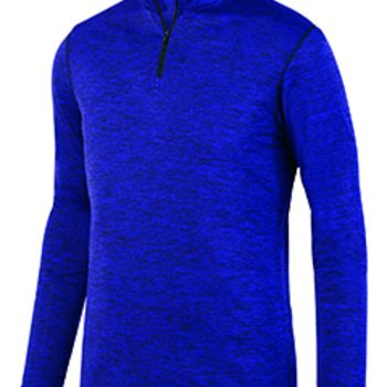 Adult Intensify Black Heather Quarter-Zip Pullover Thumbnail