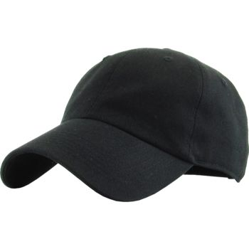 Unstructured 100% Cotton Adjustable Baseball Cap Dad Hat Thumbnail